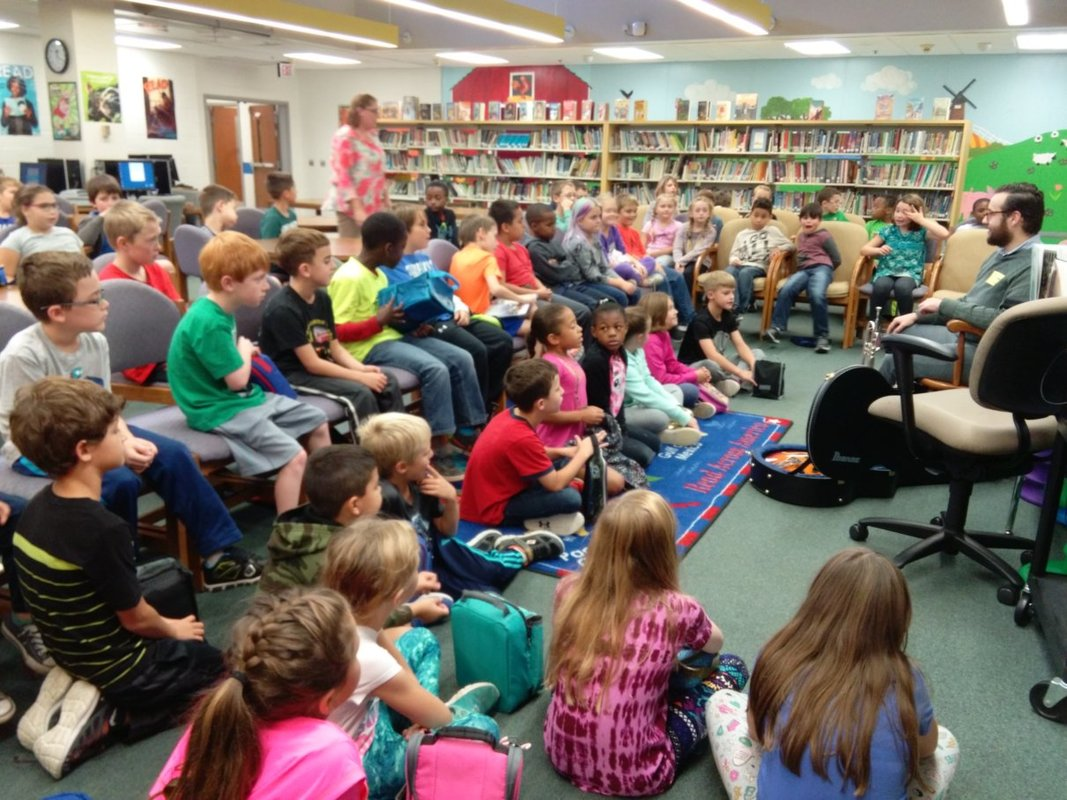 Ross Thompson Windy Hill Elementary School Library